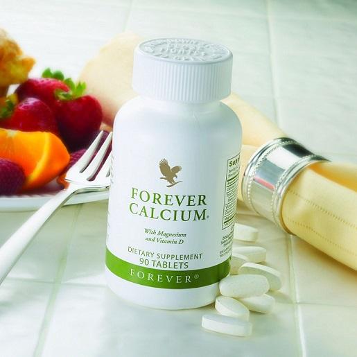 Forever Calcium echilibru pentru oasele tale cu calciu si vit D