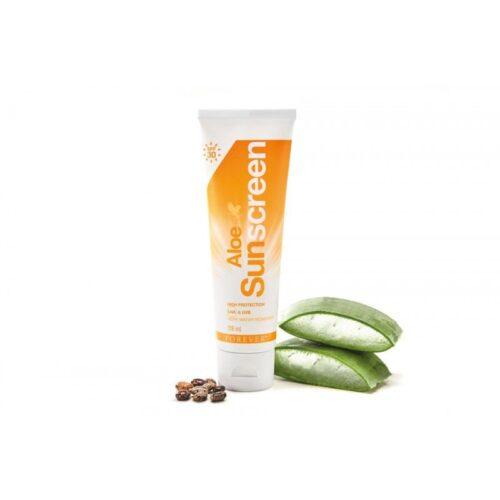 Aloe sunscreen