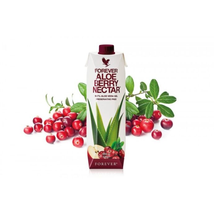 forever aloe berry nectar cu merisoare