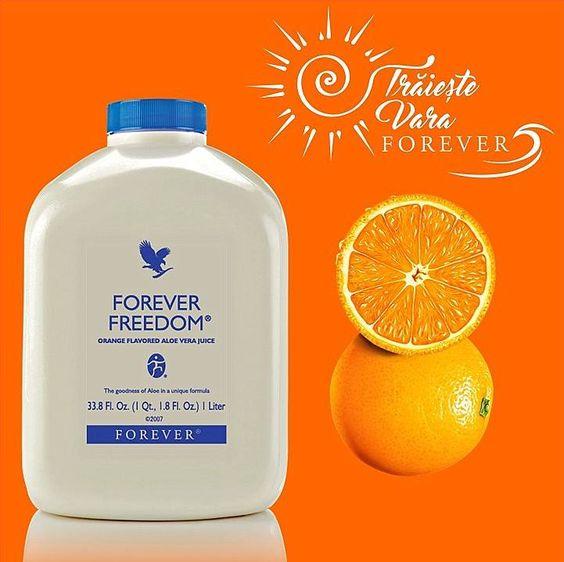 forever freedom cu portocale pentru articulatii