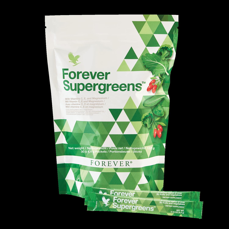 Forever supergreens produs