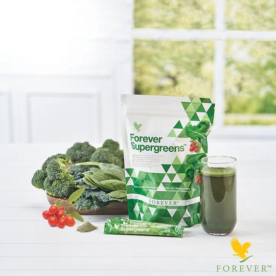 forever supergreens shake