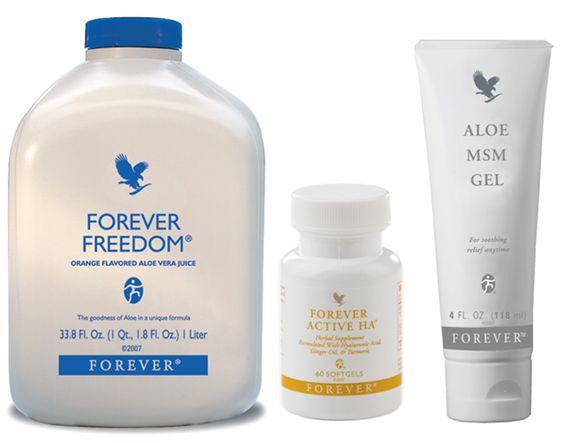 Forever Freedom, Forever Active HA și Aloe MSM gel pentru articulații sănătoase