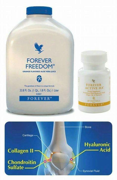 Forever Freedom și Forever Active HA pentru articulații sănătoase