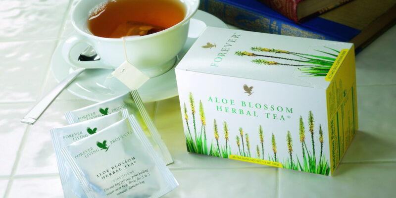 Forever aloe blossom herbal tea, ceai forever