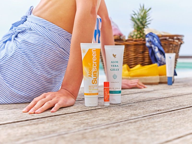 Sunscreen strand