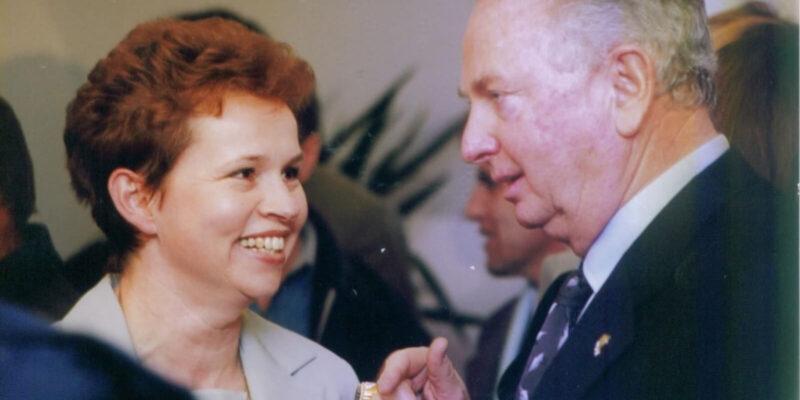 Maria si Rex Maughan