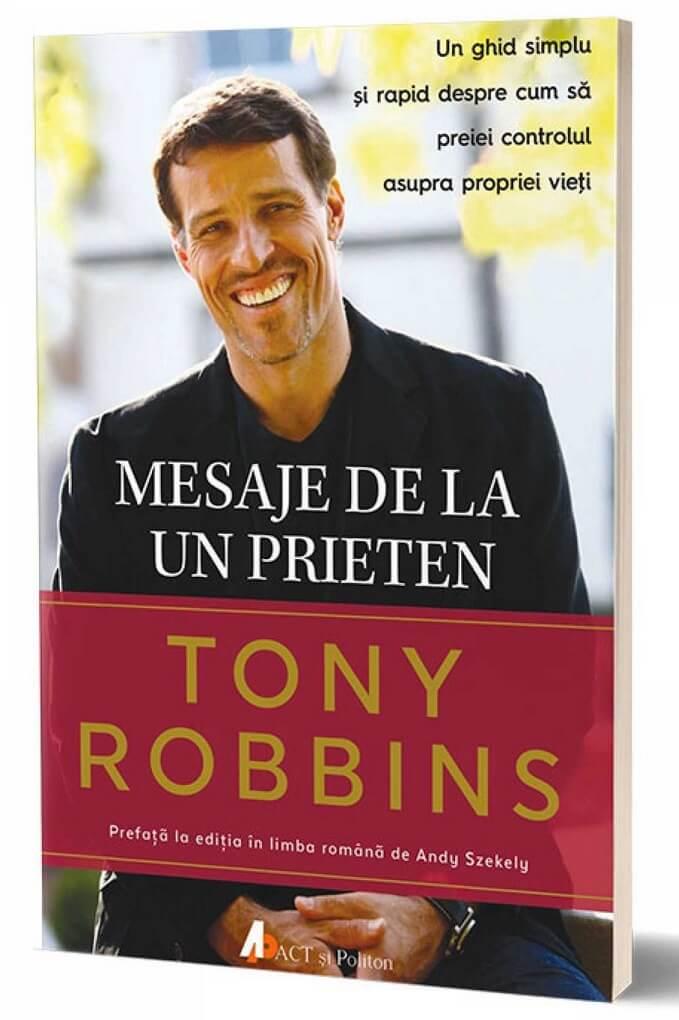 Tony Robbins - Mesajede la un prieten cartea
